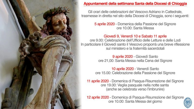 Appuntamenti Diocesani Settimana Santa