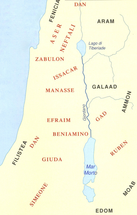 12 tribù, Ammon Moab Edom