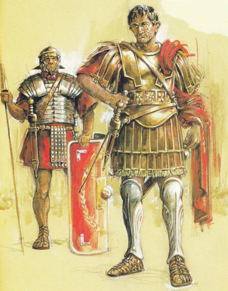 Centurione e soldato romano 2