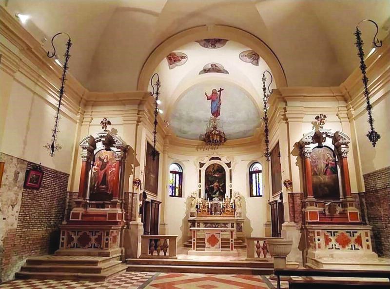 portosecco mare chiesa